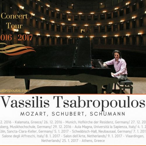 Read more about the article Vassilis Tsabropoulos Tour 2016 – 2017 Germany, Italy, Netherlands, Greece